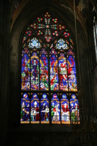 Stained Glass Window - It's Soul Time Featured Photo