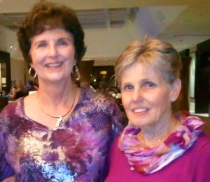 Susan Purnell & Linda Marley Reunion Photo