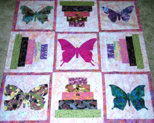 Linda's Butterfly Quilt Photo